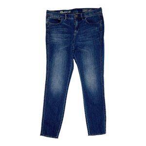 Madewell Skinny Ankle Medium Wash Blue Jeans 29